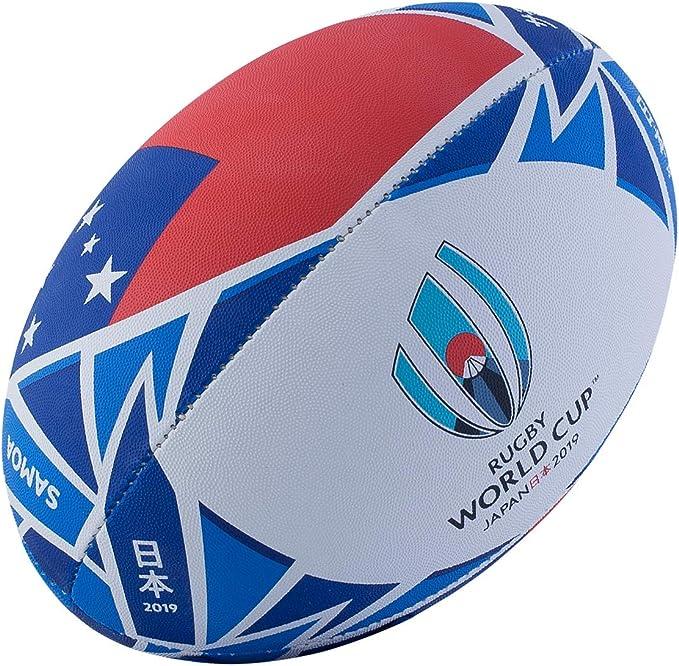 Gilbert Rugby World Cup 2019 Samoa Ball - Balón de Rugby: Amazon ...