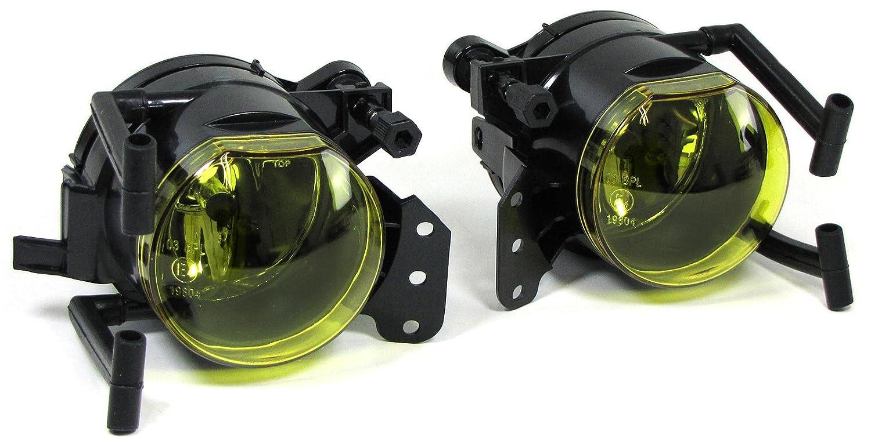 Carparts-Online 29574/_5 Klarglas Nebelscheinwerfer Set Gelb