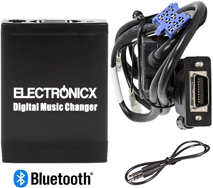Elec M06 Ren8 Bt Musik Adapter Usb Sd Aux Mit Bluetooth Freisprecheinrichtung Auto Cd Wechsler Originalradio Auto