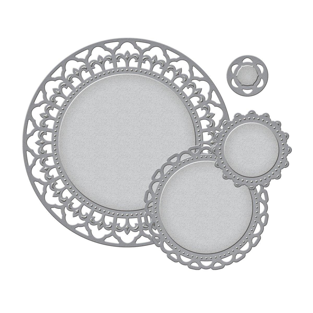 Spellbinders S4-354 Nestabilities Decorative Elements Splendid Circles Die Templates