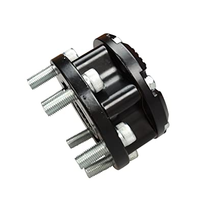 BLACKHORSE-RACING 17 Tooth Manual Locking Hub for Isuzu Rodeo Trooper Amigo 93-94,98-99: Automotive