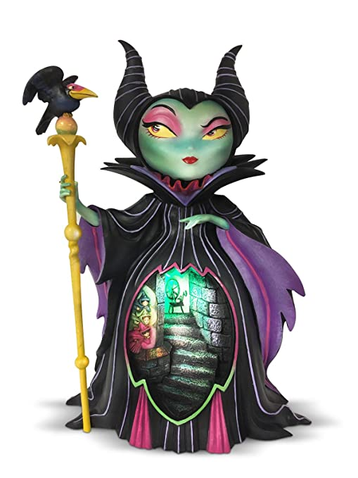 The World Of Miss Mindy Maleficent From Sleeping Beauty Stone Resin Figurine