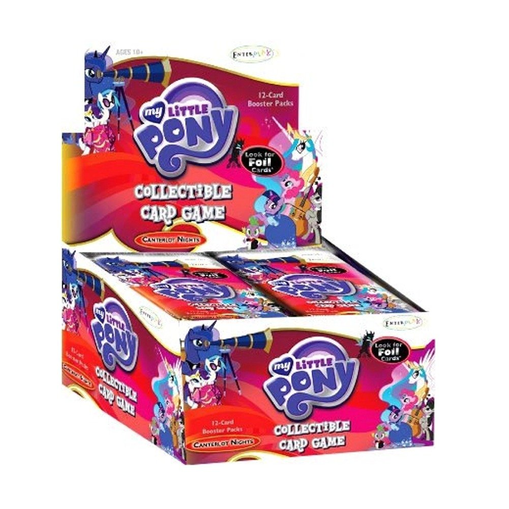 My Little Little Little Pony Canterlot Nights Display (36 Booster) d731fe