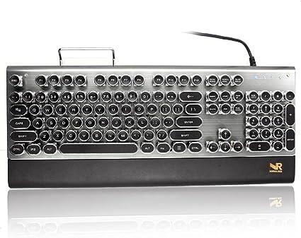 normia Rita máquina de escribir teclado azul interruptores ...