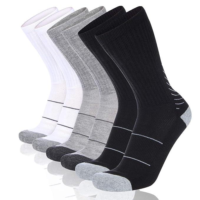 Amazon.com: COOVAN - Calcetines deportivos para hombre (6 ...
