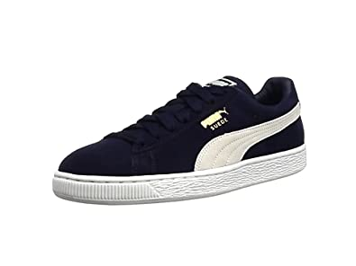 puma suede classic unisex adults 39 low top trainers. Black Bedroom Furniture Sets. Home Design Ideas