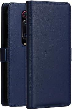 KumWum Xiaomi Mi 9T Funda Cuero Billetera Piel Flip Soporte ...