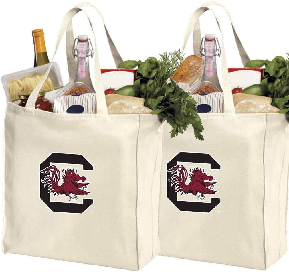 Broad Bay University of South Carolina Tote Bag Best South Carolina Gamecocks Totes Shopping Travel or Everyday