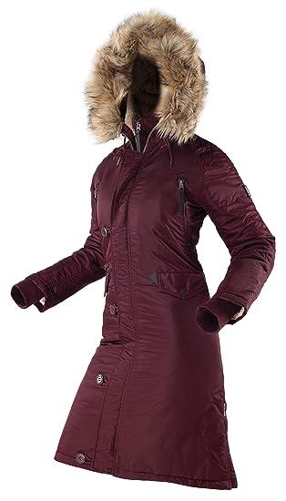 b3cb36468 AIRBOSS N-7B Eileen Long Parka - Women Winter Long and Warm Coat