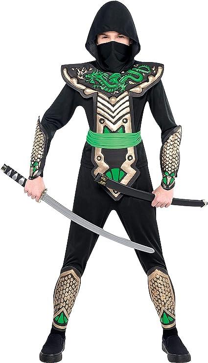 Amazon.com: Dragon Slayer Ninja Niño Disfraz, L ...