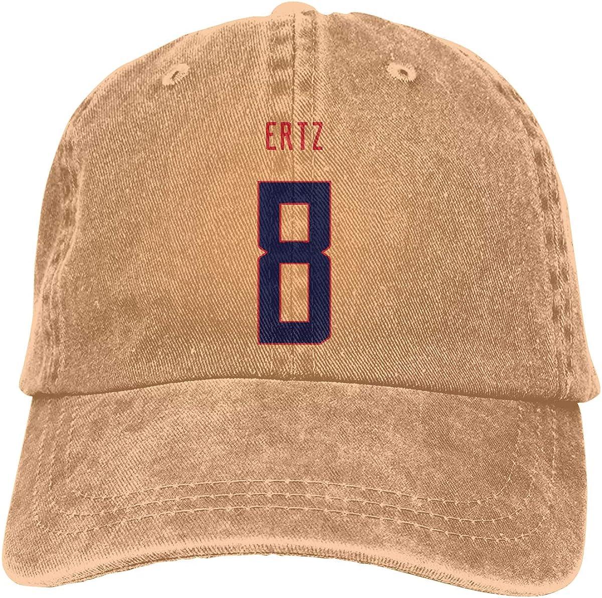 Unisex Adjustable Baseball Caps Julie-Ertz-Red-Logo Cowboy Skull Cap