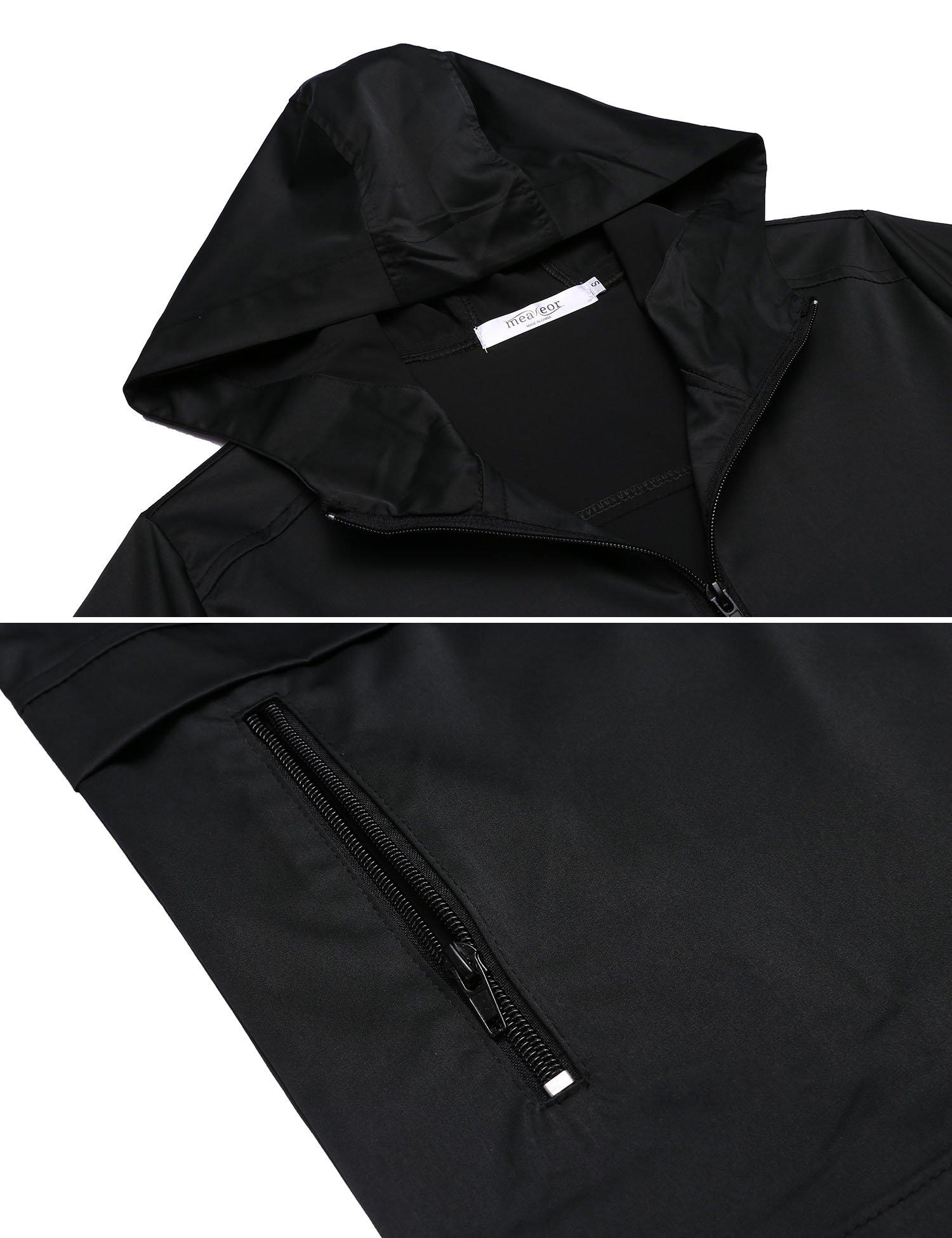 SummerRio Women's Waterproof Venture Resolve Softshell Rainwear Jacket (Black,Medium) by SummerRio (Image #6)