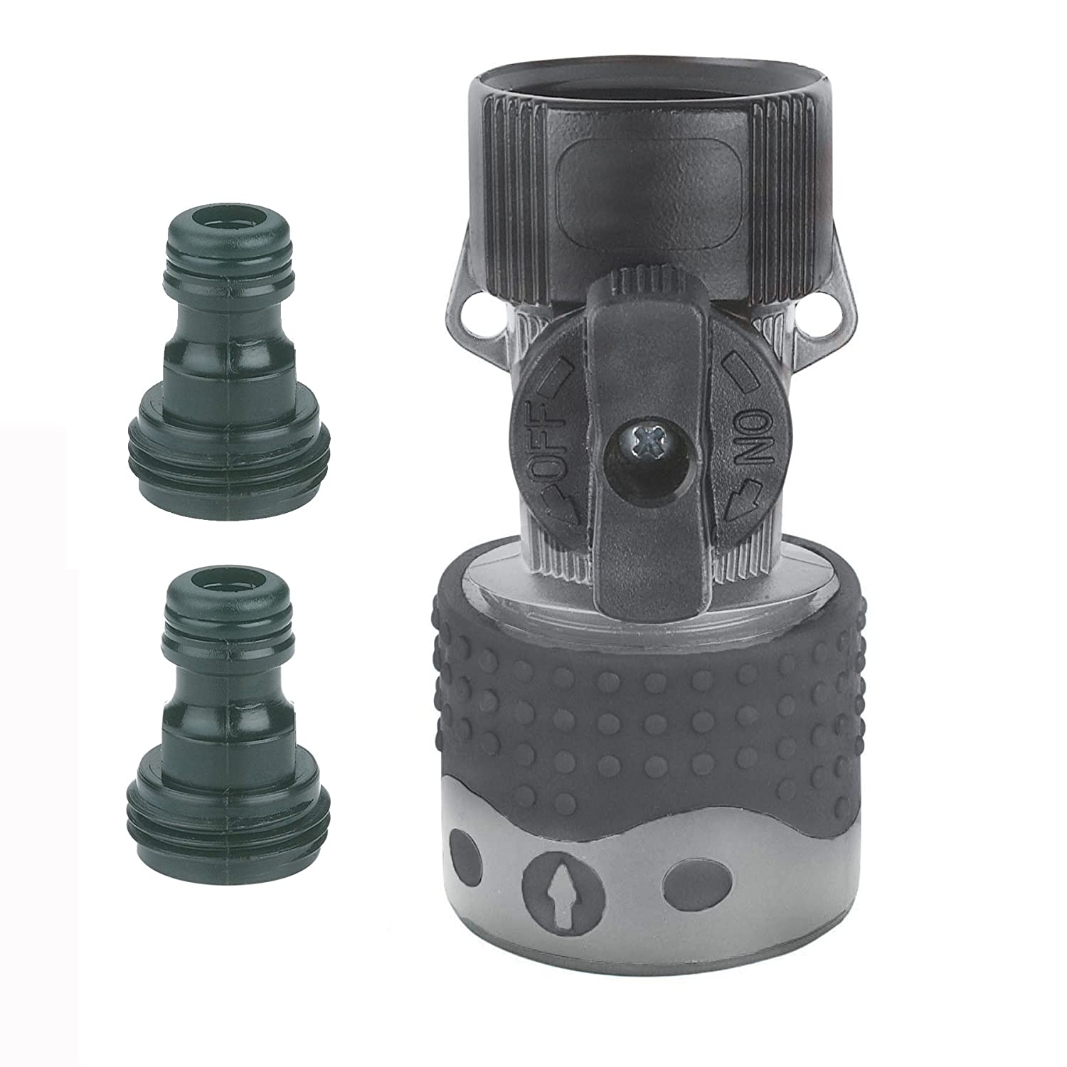 Gilmour Hose End Quick Connector Set 29Q Teal/Black, Green