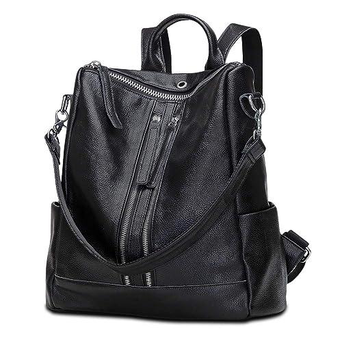 e46a2253e0b6 Modoker Travel Backpack Purse for Women Convertible Leather Shoulder  Weekender Bag