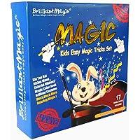BrilliantMagic BMM011 Kids Easy Magic Tricks Set Box Includes Ten Great Magic Props to Make a Complete Magic Show