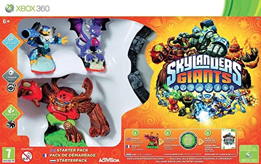 skylanders giants starter pack xbox 360 amazon co uk pc rh amazon co uk Original Xbox 360 Xbox 360 Skylanders Mega Pack