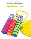 MEIFU Timer Jump Rope,Workout Speed Rope-9.2 Feet Adjustable Exercise Skipping Rope,for Adult Kids Fitness,Training,Competitions,Gym,Cardio