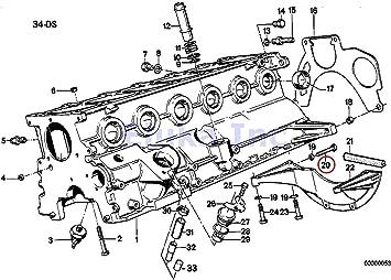 bmw e28 engine diagram amazon com bmw genuine bolt auto trans bellhousing to engine  amazon com bmw genuine bolt auto