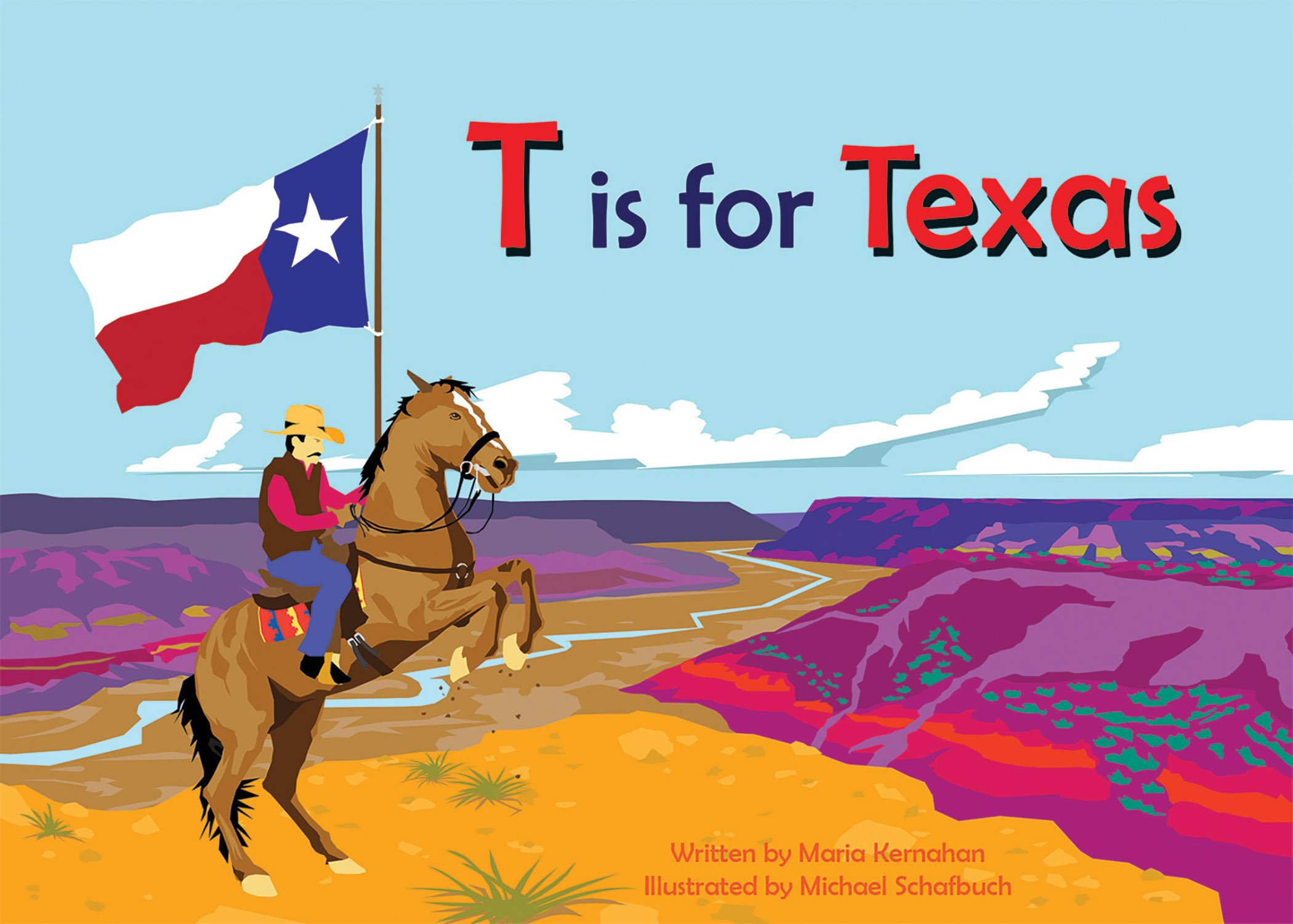 T is for Texas (Alphabet Places)