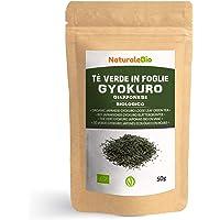Biologische Japanse Groene Thee Gyokuro 50 gram. 100% Bio, Natuurlijke en Zuivere Groene Thee van de Eerste Pluk…