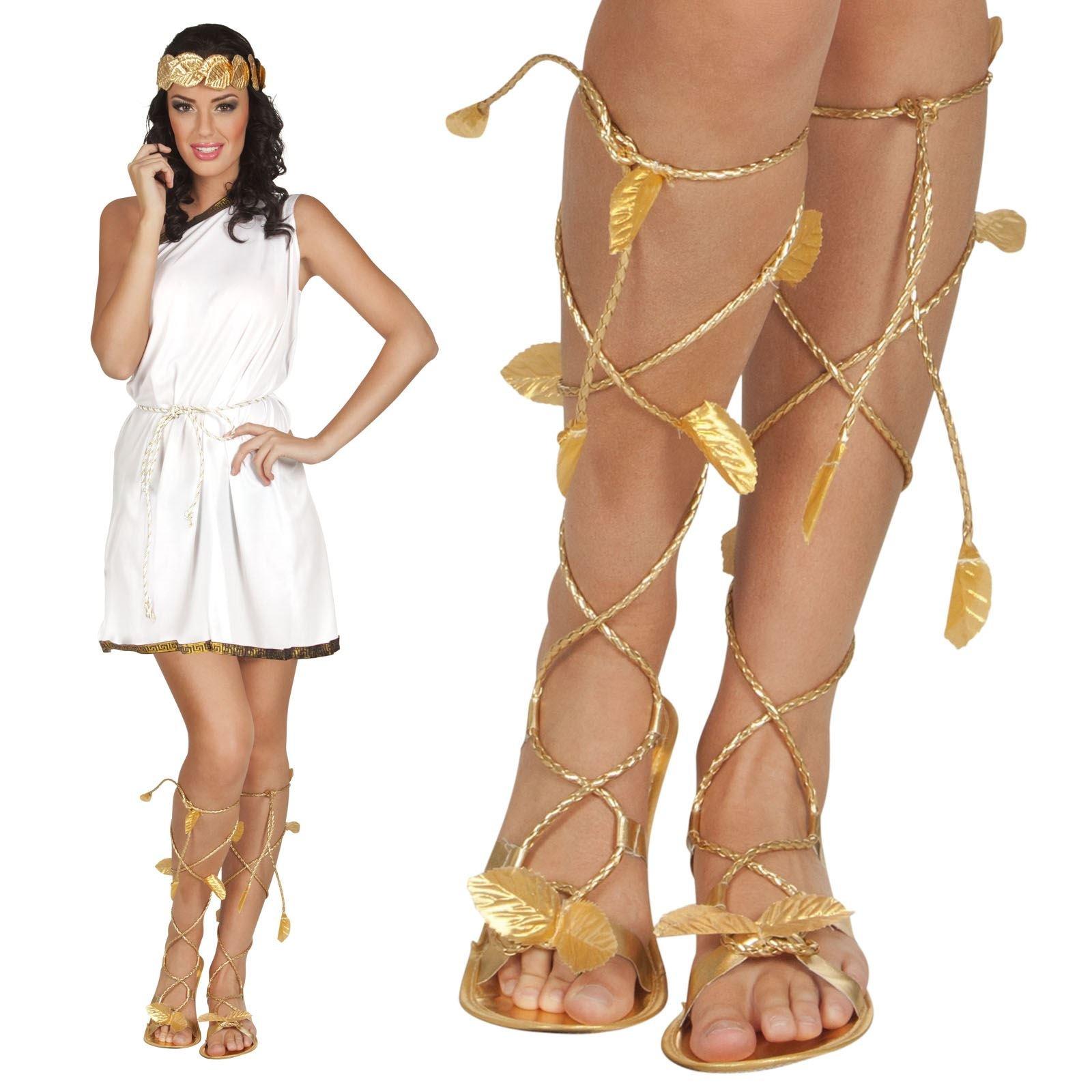FANCY DRESS Goddess Leg Wraps