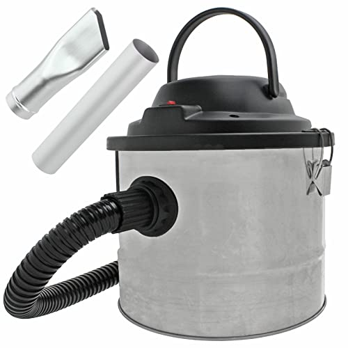 SPARES2GO Powerful Ash Dust and Debris Vacuum Cleaner Collector + Blower (15 Litre)