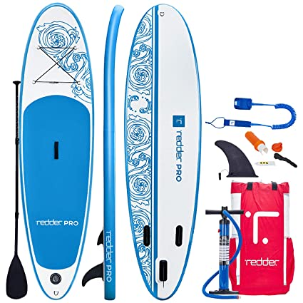 INWAVE Tablas Paddle Surf Hinchables Vortex 10 All Round Tabla Stand Up Paddle - Kit con Inflador De Mano De Doble Acción, Pala Ajustable 3 Piezas, ...
