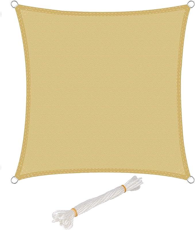 Toldo Vela de Sombra Rectangular Toldos IKEA Prevención Rayos UV ...