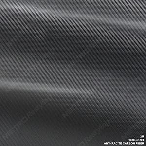 3M 1080 CF201 ANTHRACITE CARBON FIBER 5ft x 1ft (5 Sq/ft) Vinyl Flex Wrap