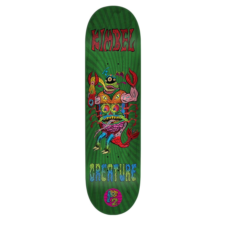 CreatureスケートボードデッキKimbel