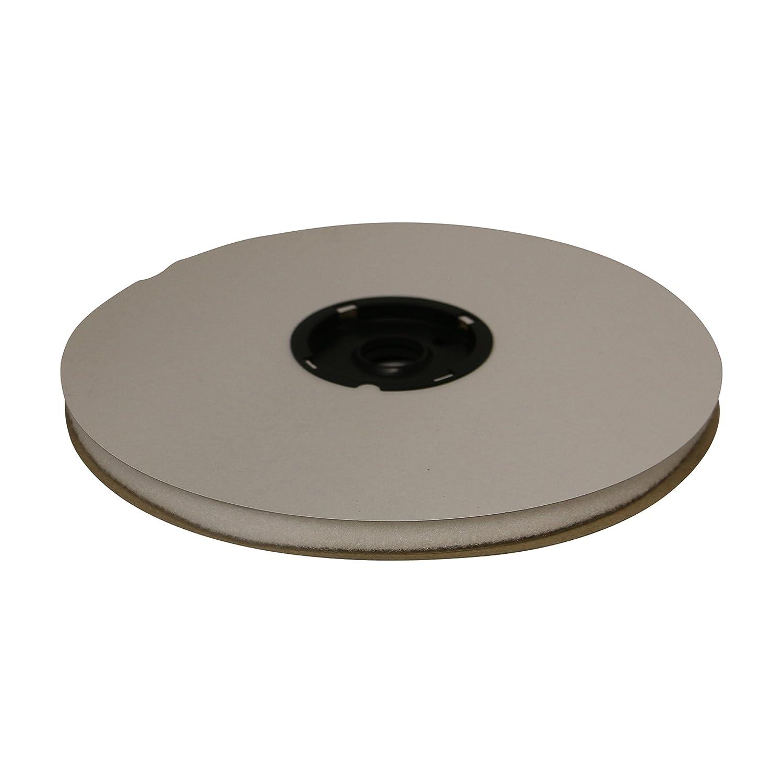 FindTape HL74-R - Rollo de 0,5 cinta adhesiva de cara, solo 0,5 de cm x 75 pies (blanco) / Loop-Side sólo a1536d