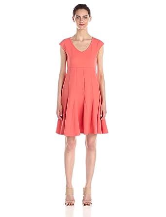 Taylor Dresses Women&39s Jacquard Knit Dress at Amazon Women&39s ...