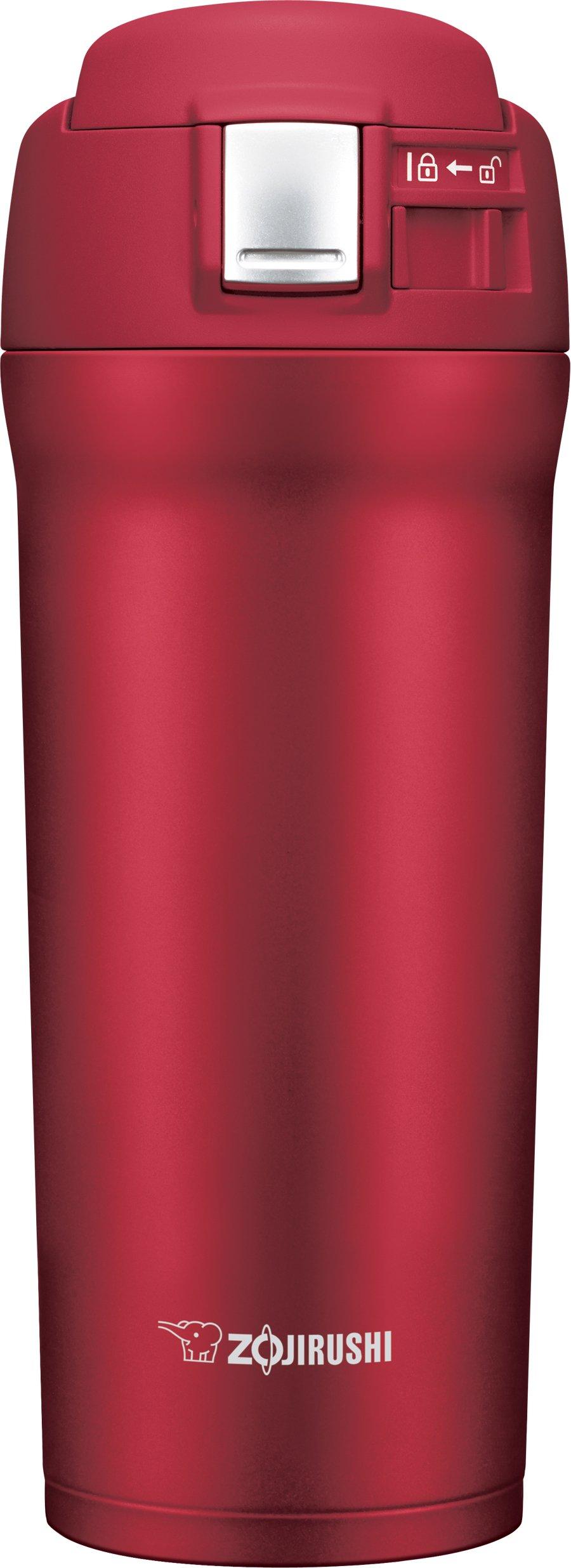 Zojirushi SM-YAE48RA Travel Mug, 16 oz, Cherry Red