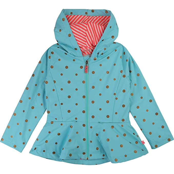 exclusive deals many fashionable timeless design Billieblush Girls' Raincoat - Turquoise - 5 Years (104/110 ...