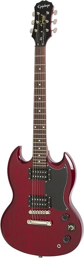 Epiphone SG-Special - Guitarra eléctrica, color rojo (Amazon ...