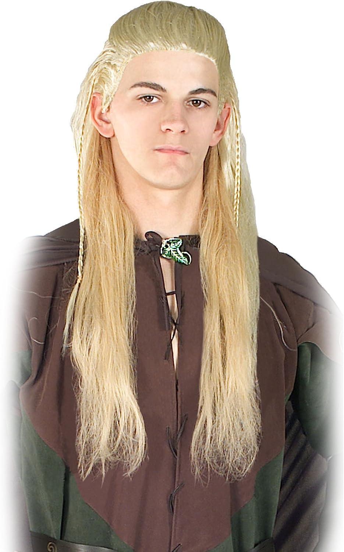 Lord of the Rings Legolas Wig (peluca): Amazon.es: Juguetes y juegos