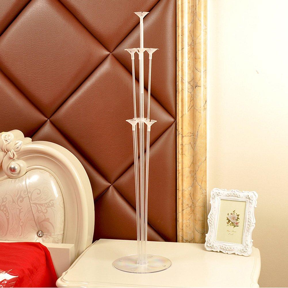 WEIHUIMEI 1PC plastica Balloons–Supporto da tavolo Floating balloon supporto rack set per festa di nozze scrivania