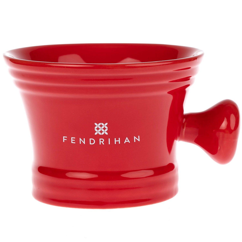 Fendrihan Moderno Apothecary Shaving Mug (Red)