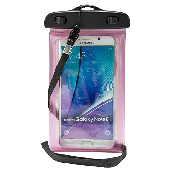 free shipping 6714c c78ad Amazon.com: Universal Waterproof Dry Bag Armband for Samsung Galaxy ...