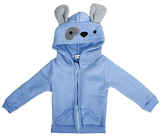 Children's Classic Cartoon Animal Hoodie Jacket