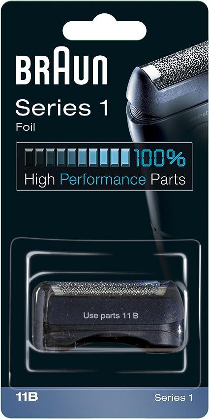 Braun 11B Recambio para afeitadora eléctrica hombre series 1, compatible con 150 y 130, negro: Amazon.es: Salud y cuidado personal