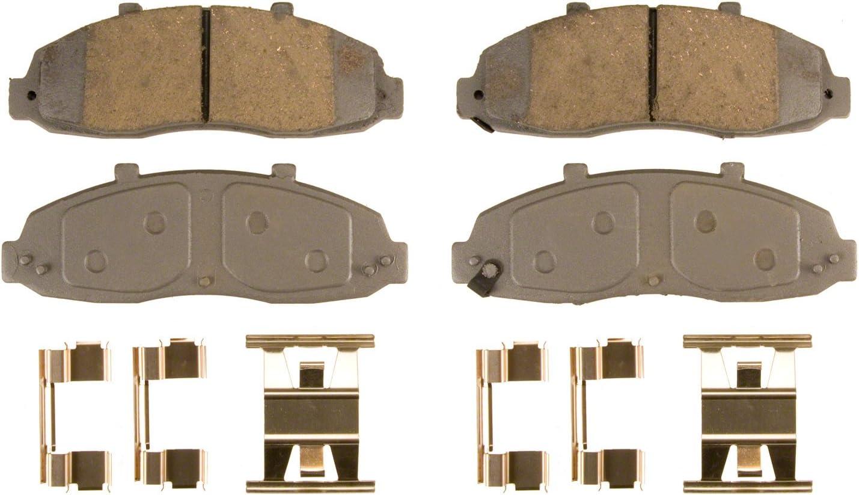 Disc Brake Pad Set-ThermoQuiet Disc Brake Pad Rear Wagner QC711