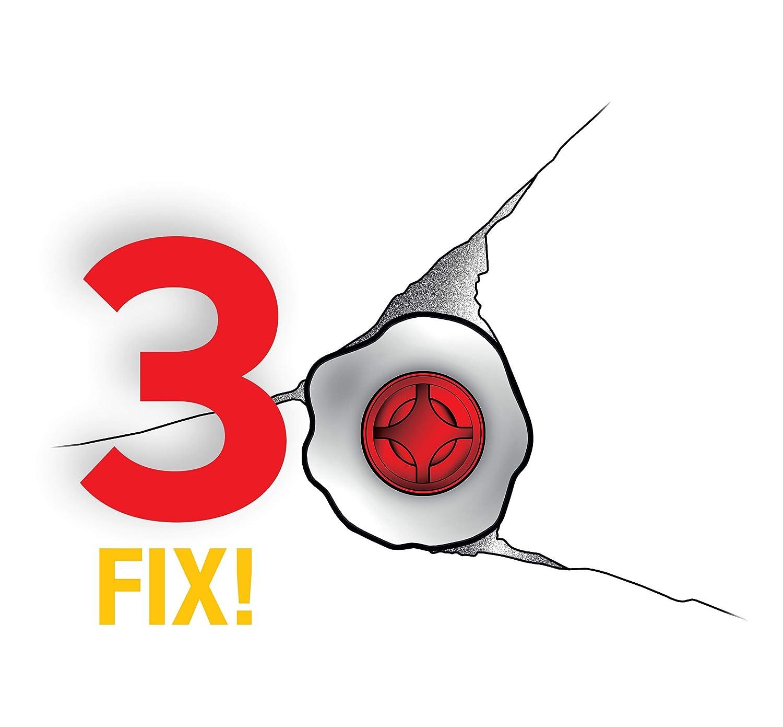 WETNFIX Lot de 20/disques de fixation rapide pour cheville/ plus besoin de reboucher ou de repercer les trous de vos murs/!
