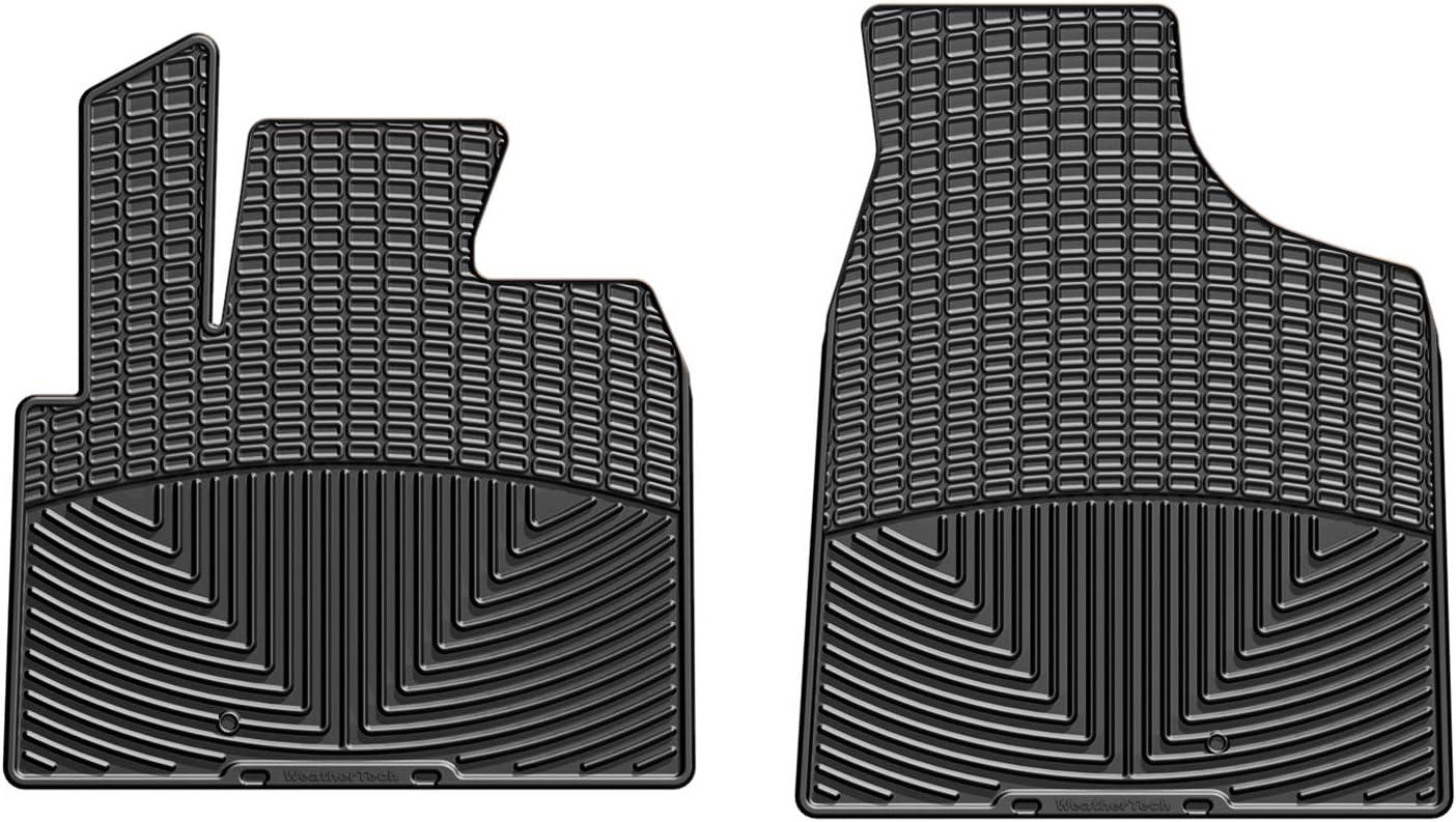 Black Front Rubber WeatherTech  W40  Floor Mats