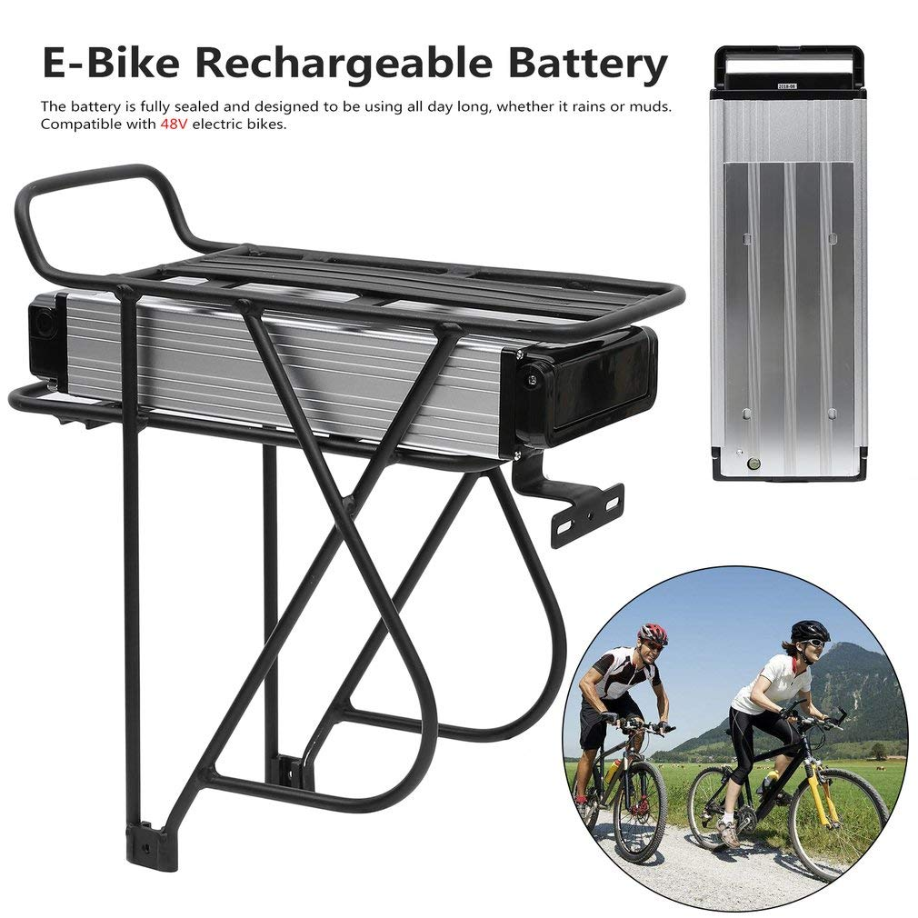 Graspwind Ebike Battery 48V 18A Lithium ion Battery E-Bike Battery with Charger use for 1000W E-Bike Kit