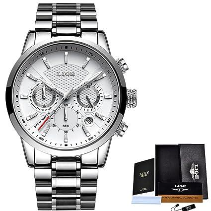 Luxury Watches Men Fashion Sport Military Quartz Watch Men Full Steel Business Waterproof Clock Man Relogio