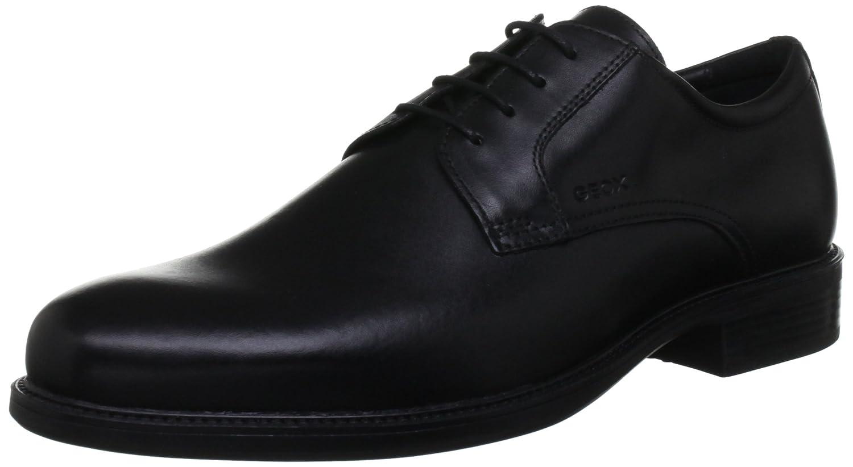 U Dublin C, Chaussures de ville homme - Noir (Black), 42.5 EUGeox