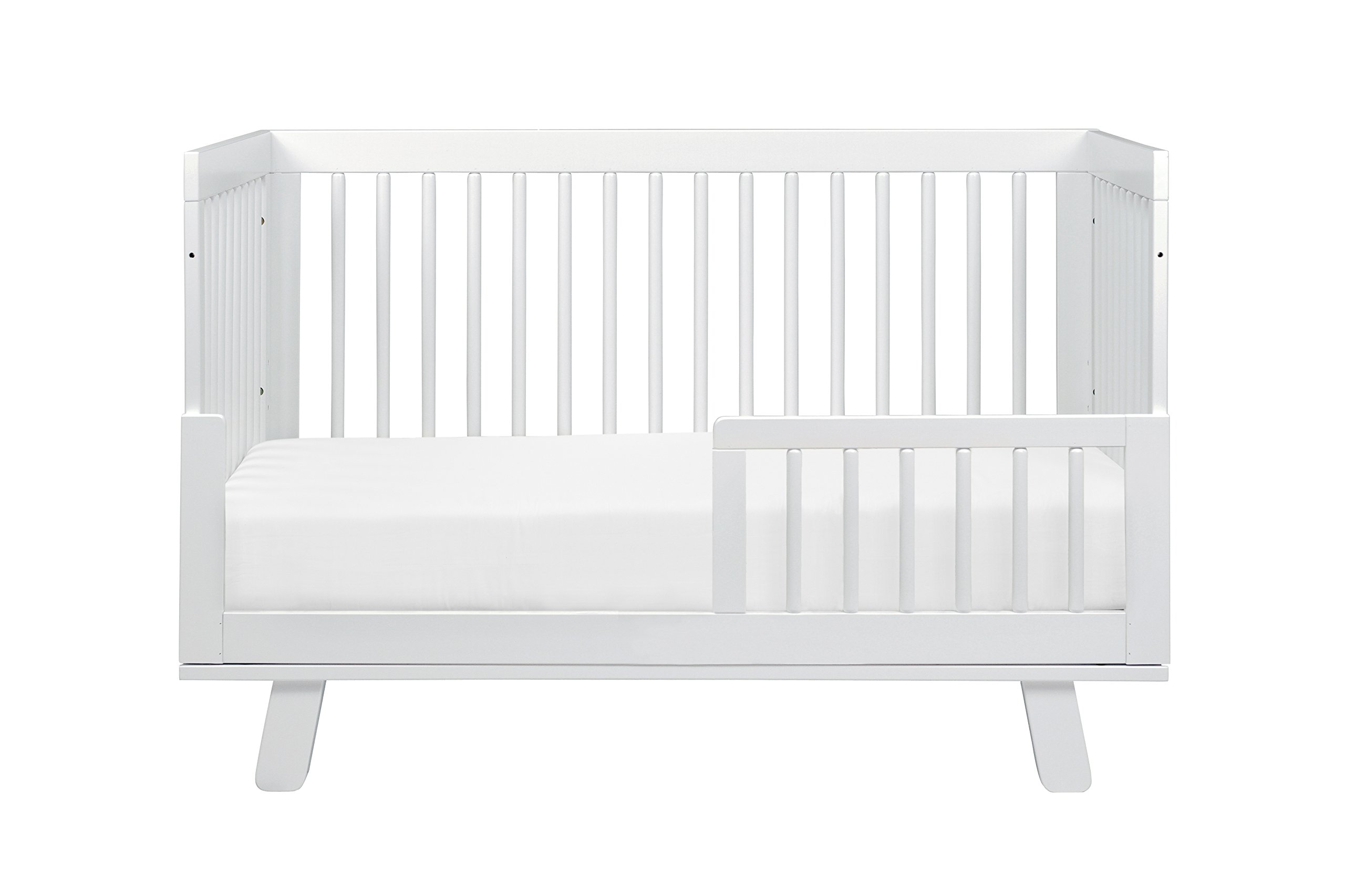 Babyletto Hudson 3-in-1 Convertible Crib with Toddler Bed Conversion Kit, White by babyletto (Image #9)