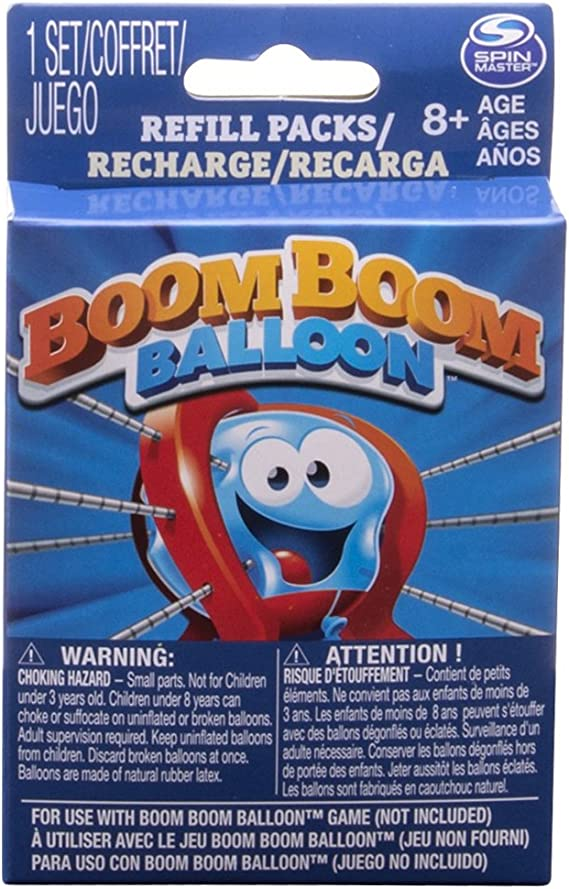 Spinmaster Games Boom Boom Balloon Refills Game: Amazon.es: Juguetes y juegos