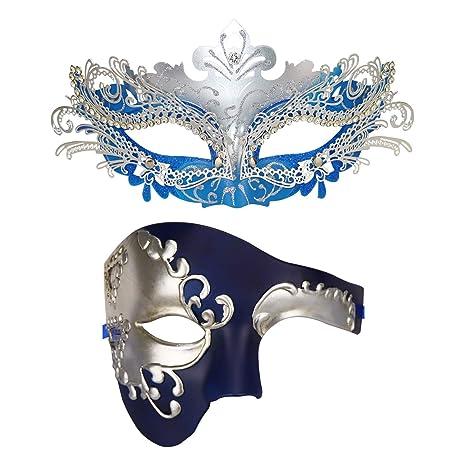 Parejas máscara de la Mascarada Máscara de Carnaval Halloween ...